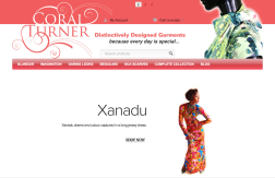 Coral Turner Couture International Website
