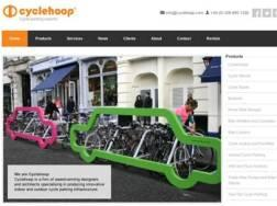 Previously, Cyclehoop's website was generating one email per month from clients. Now, after implementing actions recommended by UKTI's Export Communications Review, 70% of the company's sales are initiated by its website