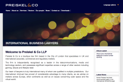 Preiskel International Website