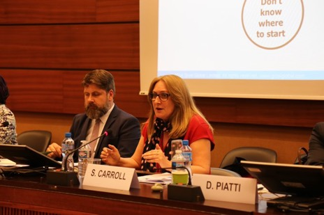 Sarah Carroll - UNCTAD E-commerce Week 2018